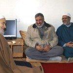 في استقبال د. أحمد الريسوني وم. محمد الحمداوي